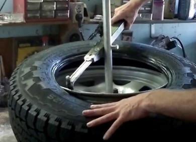 Крепление колес