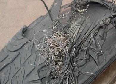 Основные причины преждевременного разрушения пневматических шин
