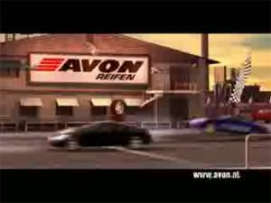 Видео от Avon (Шины). Жадный до скорости