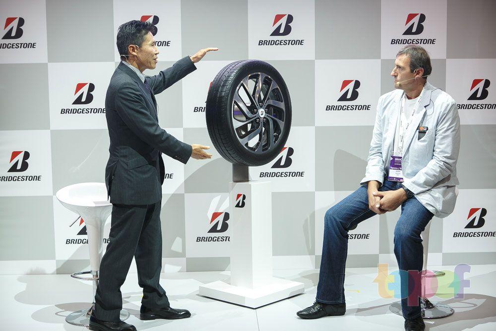 Разное от Bridgestone (Шины). Анонс новых шин в Москве