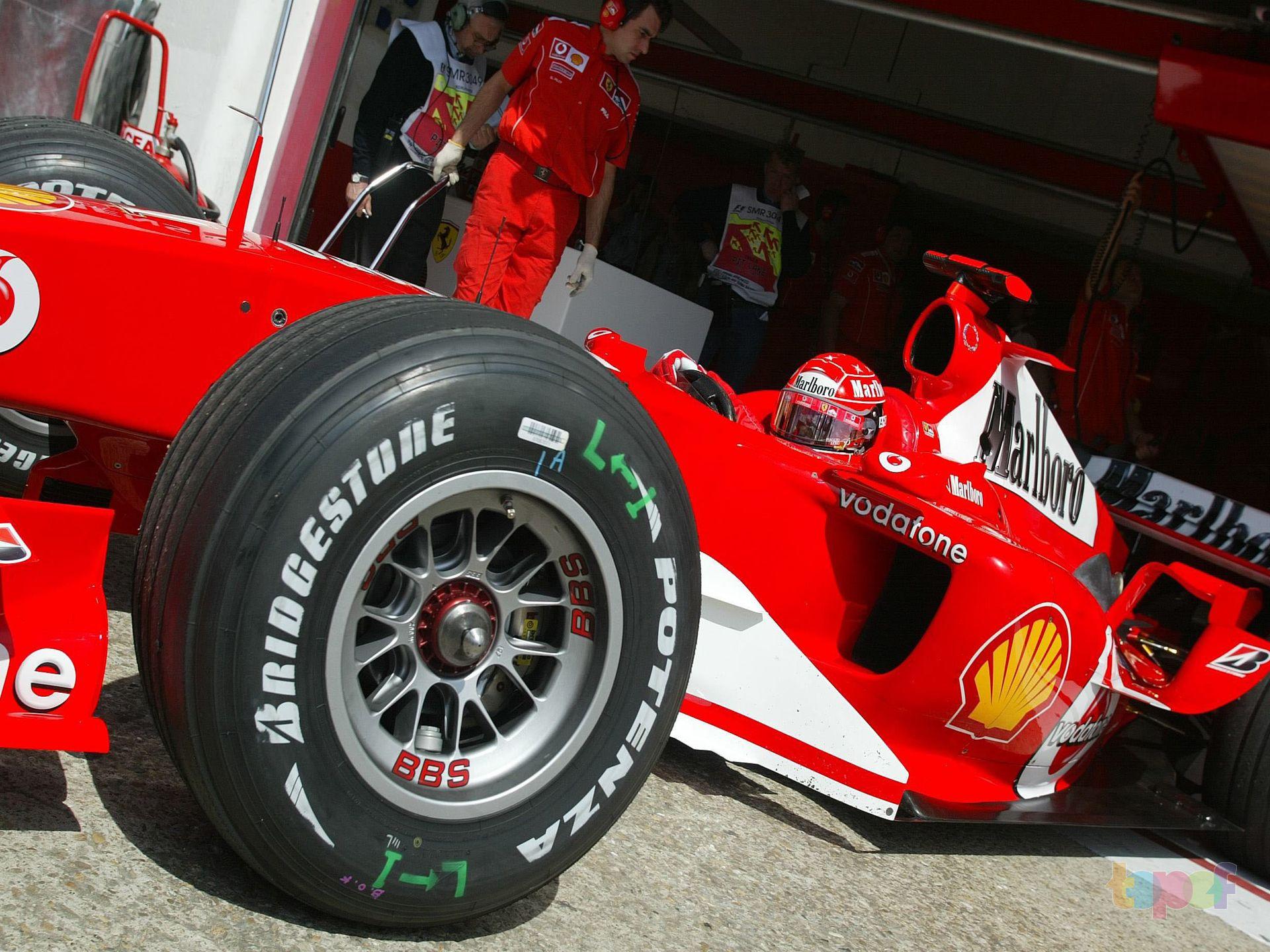 Разное от Bridgestone (Шины). Фотки с Формулы 1