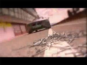 Видео от Bridgestone (Шины). Беспрокольная система (Run Flat Tyres)