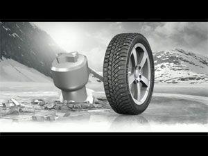 Видео от Continental (Шины). В поддержку нового шипа