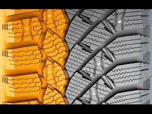 Видео от Continental (Шины). Элементы рисунка протектора и их функционирование