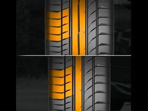Видео от Continental (Шины). Эффективность рисунка протектора