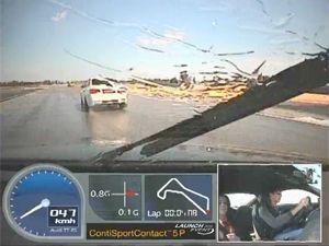 Видео от Continental (Шины). Тест шин на КонтиДроме (Испания). Автомобиль Audi TT