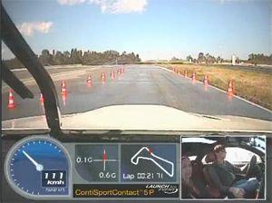 Видео от Continental (Шины). Тест шин на КонтиДроме (Испания). Автомобиль BMW M3