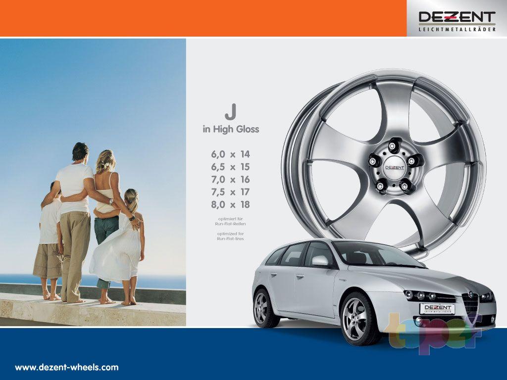 Обои от Dezent (Колесные диски)
