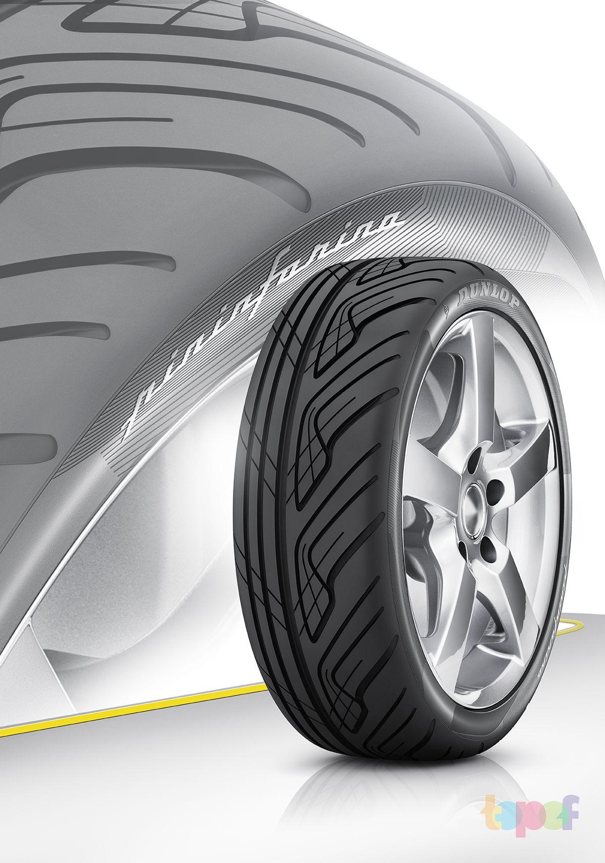 Разное от Dunlop (Шины). Концепт шины без массового производства