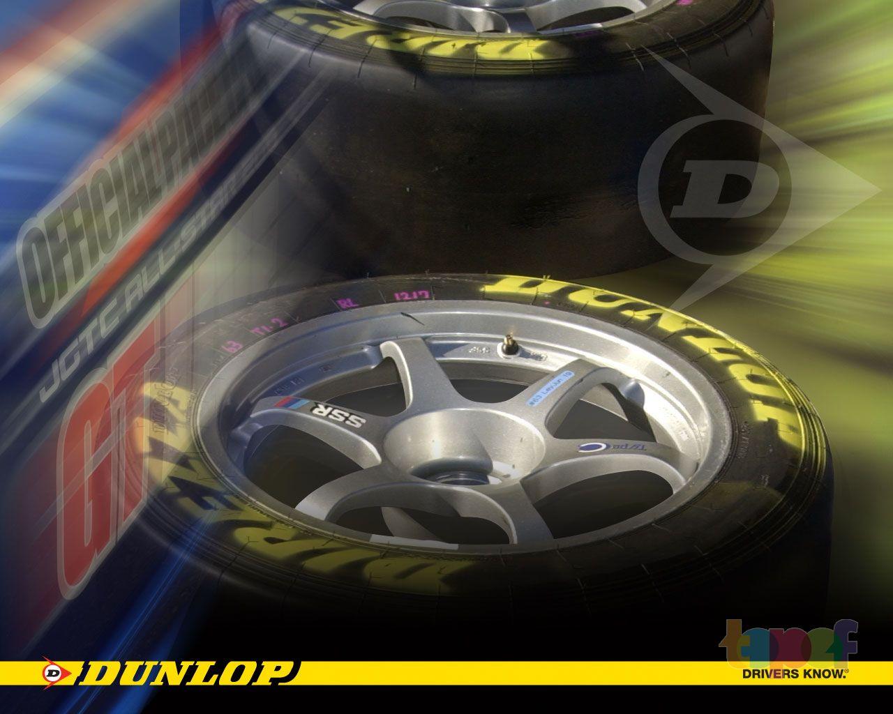 Обои от Dunlop (Шины)
