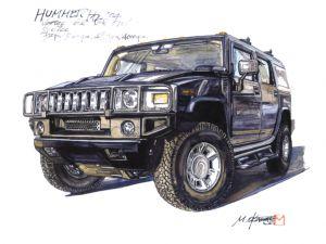 Обои от Dunlop (Шины). Hummer