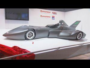 Видео от Firestone (Шины). Concept Car. DeltaWing 2012