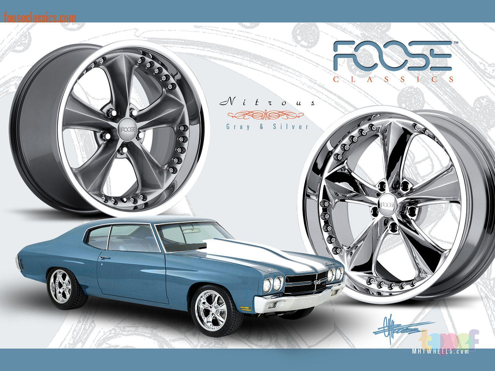 Обои от Foose (Колесные диски)