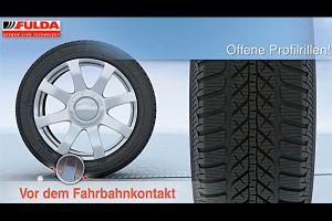 Видео от Fulda (Шины). Наглядный рассказ о преимуществах зимних шин