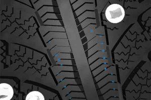 Видео от Gislaved (Шины). Перемычки внутри прорезей блоков рисунка протектора шины
