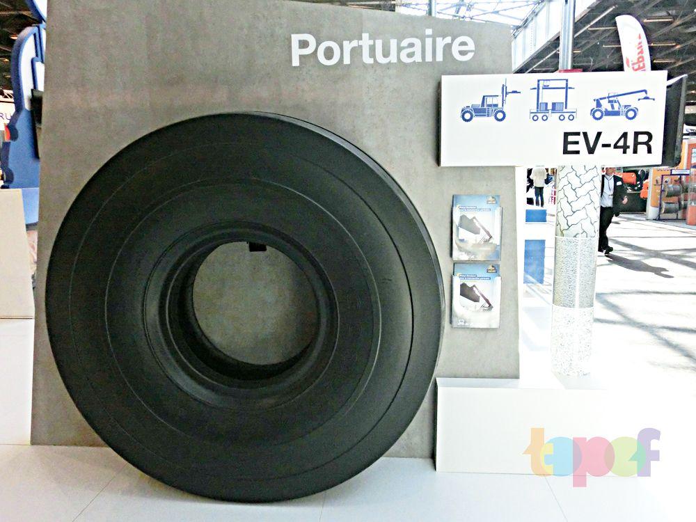 Разное от Goodyear (Шины). Шины для портовых погрузчиков на выставке InterMat 2015