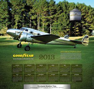 Календари от Goodyear (Шины). Календарь на 2013 год