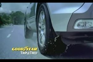 Видео от Goodyear (Шины). Предложение для дождливой погоды (есть даже намек на снег)