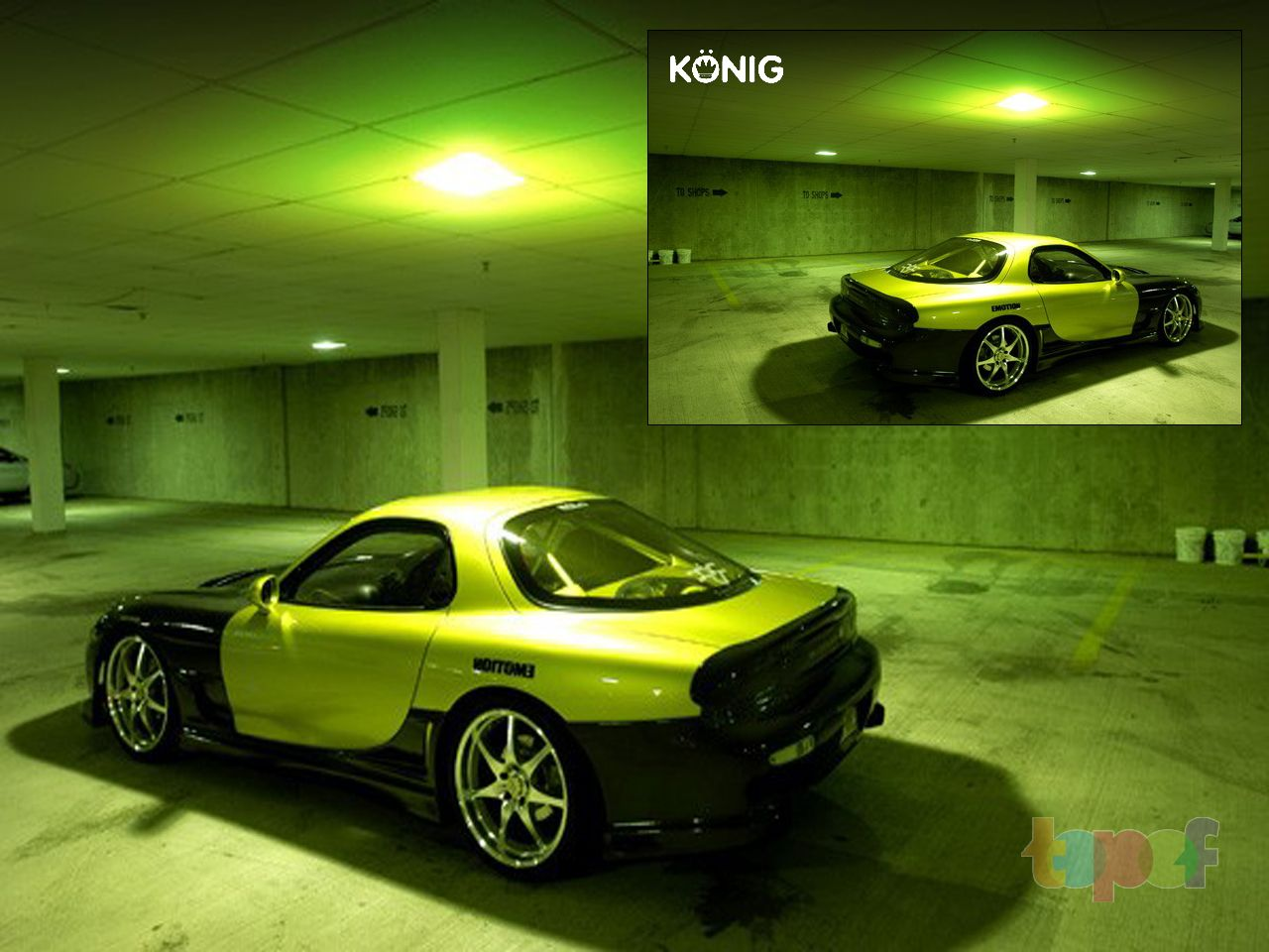 Обои от Konig (Колесные диски)