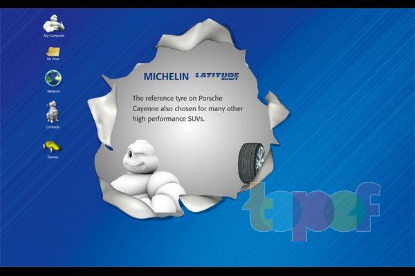 Защитники экрана от Michelin (Шины)
