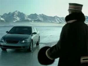 Видео от Michelin (Шины). Добро пожаловать в ледяной дворец. Канада