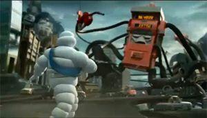 Видео от Michelin (Шины). Экономия топлива