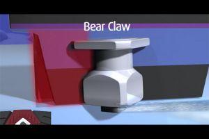 Видео от Nokian (Шины). Технология Медвежьего когтя