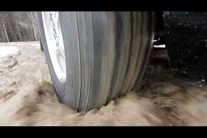 Видео от Nokian (Шины). И по грязи, и по снегу