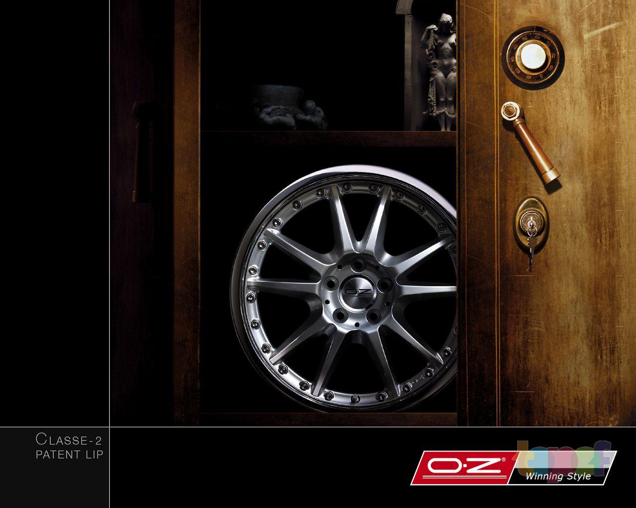 Обои от O.Z Racing (Колесные диски)