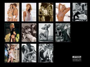 Календари от Pirelli (Шины). Календарь на 2003 год