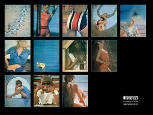 Календари от Pirelli (Шины). Календарь на 1965 год