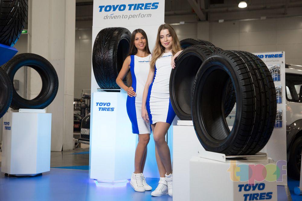 Разное от Toyo (Шины). Московский международный автомобильный салон 2016