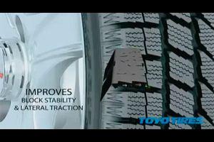 Видео от Toyo (Шины). Наглядно показываются характеристики шин