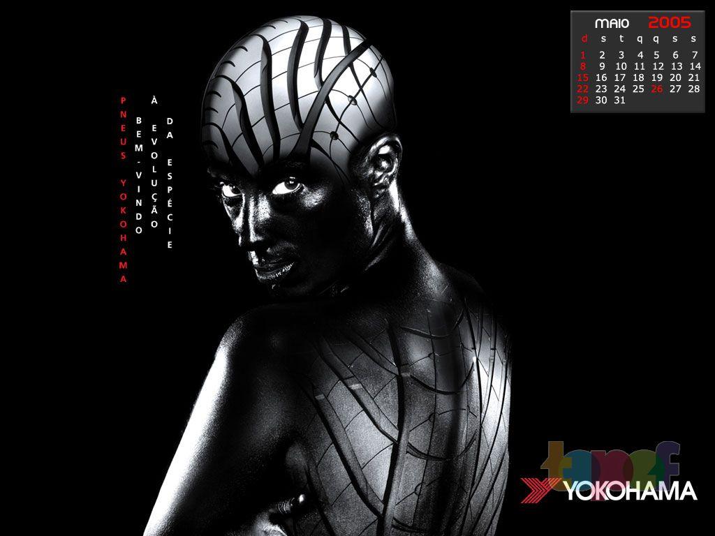 Календари от Yokohama (Шины). Май 2005 года