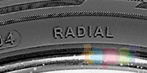 Маркировка шин. Обозначение Radial для радиальных шин
