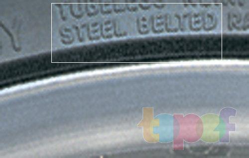 Маркировка шин. Обозначение Steel Belted