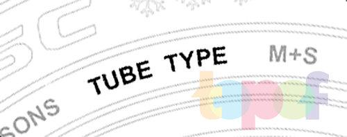 Маркировка шин. Обозначение камерных шин Tube Type