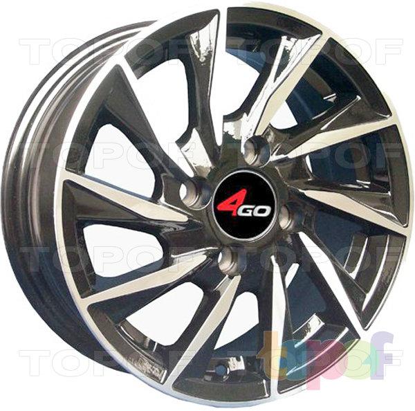 Колесные диски 4GO 1101. Изображение модели #1