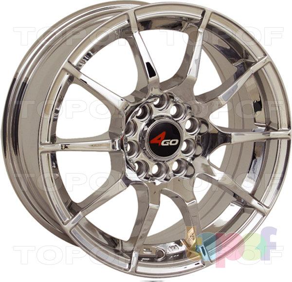 Колесные диски 4GO 5007. Изображение модели #1