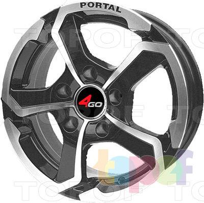 Колесные диски 4GO 5273. Изображение модели #1