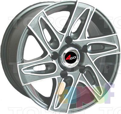 Колесные диски 4GO 6093. Изображение модели #1