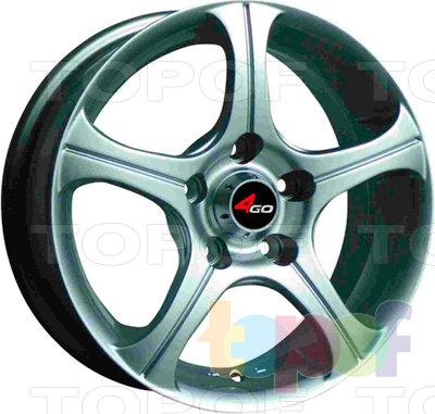 Колесные диски 4GO CT001. Изображение модели #1