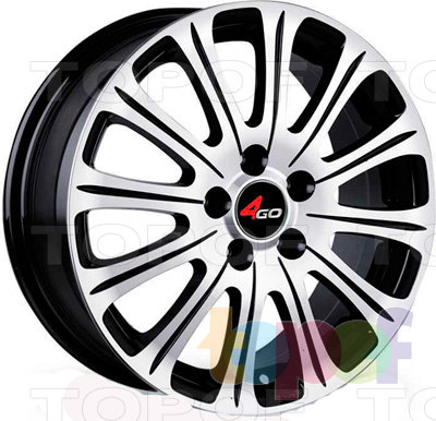 Колесные диски 4GO CT002