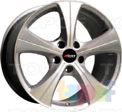 Колесные диски 4GO HH-056. Изображение модели #1