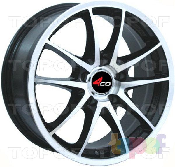 Колесные диски 4GO JJ130. Изображение модели #1