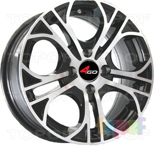 Колесные диски 4GO JJ511. Изображение модели #1
