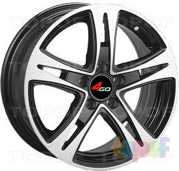 Колесные диски 4GO JJ523. Изображение модели #1