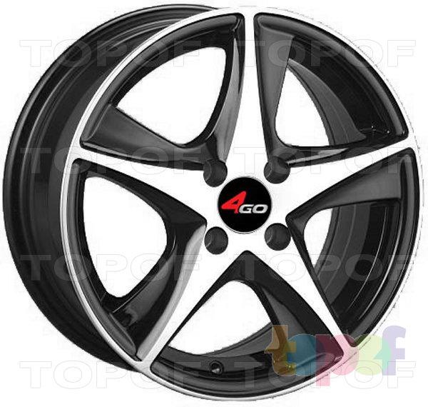 Колесные диски 4GO JJ525. Изображение модели #1
