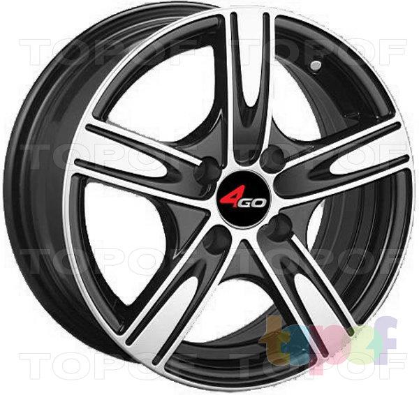 Колесные диски 4GO JJ527. Изображение модели #1