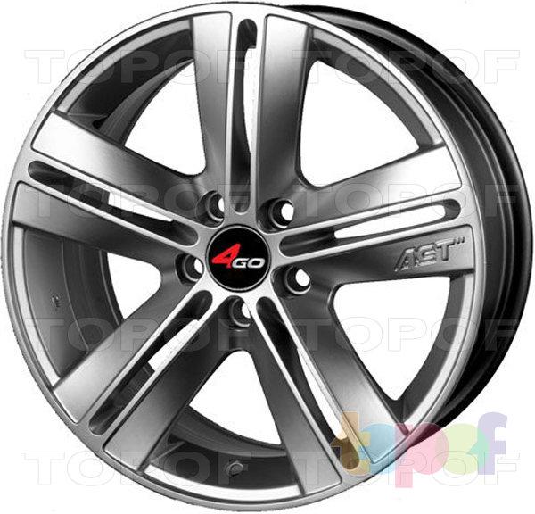 Колесные диски 4GO JJ596. Изображение модели #1